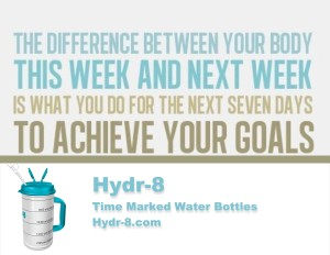 Get fit with the Hydr-8 water tracking bottle!